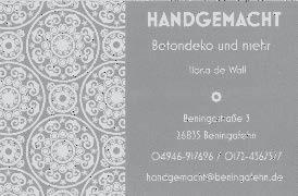 Ilona de Wall - Handgemacht